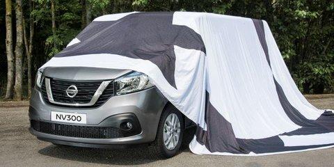 Nissan NV300: Trafic-based van previewed for Euro market