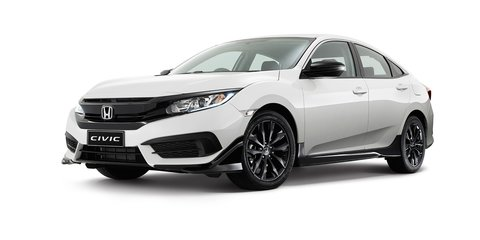 2016 Honda Civic Black Pack option unveiled