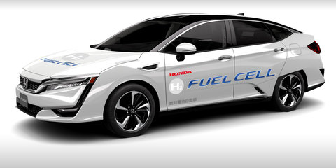 Honda showcases Clarity Fuel Cell vehicle and Autonomous prototype at G7 Summit