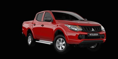Mitsubishi Triton GLX+ model on sale now