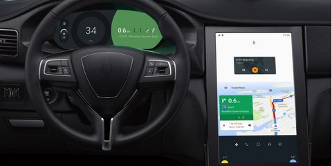 Google overhauls Maserati's infotainment with Android interface