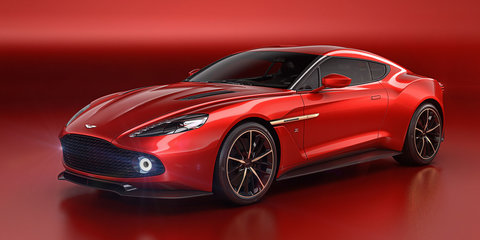 2016 Aston Martin Vanquish Zagato concept unveiled