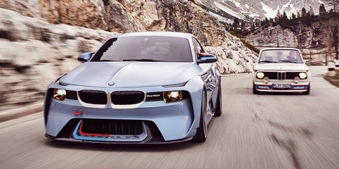 BMW 2002 Hommage revealed for Concorso d'Eleganza Villa d'Este