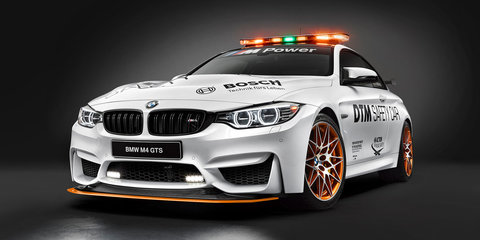 2016 BMW M4 GTS DTM Safety Car unveiled