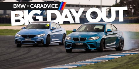 BMW M Performance Day winners tackle Phillip Island