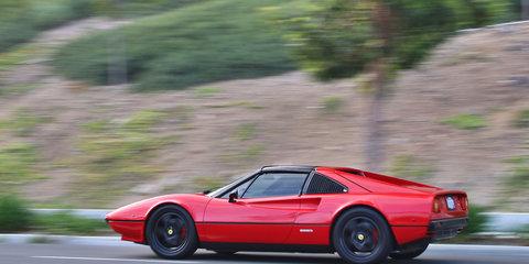 Ferrari 308 GTS restored with new electric drivetrain