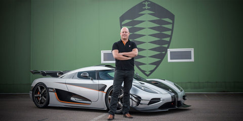 Koenigsegg is working on a small engine with huge power