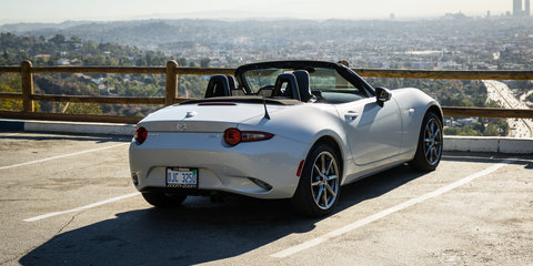Exploring Mulholland Drive: Top down in LA in a Mazda MX-5