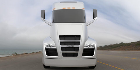 Nikola electric truck drops natural gas plans, switches to hydrogen power