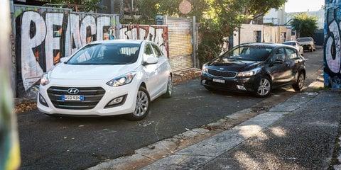 2016 Hyundai i30 Active v 2017 Kia Cerato S Comparison