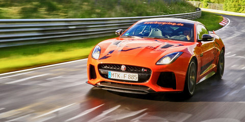 2017 Jaguar F-Type SVR set for Nurburgring guest hot laps