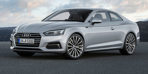 2017 Audi A5 Coupe, S5 Coupe revealed: Australian launch due first-half next year