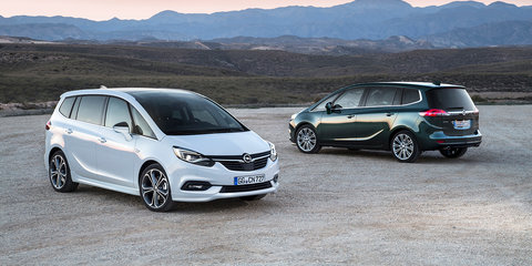 2017 Opel Zafira facelift unveiled