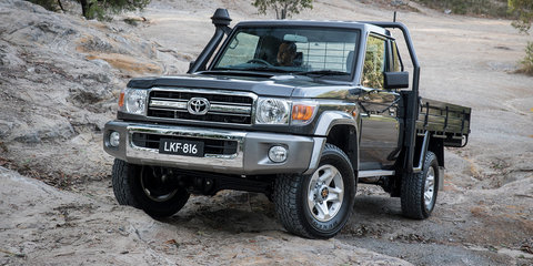 2017 Toyota LandCruiser 70 Series: Australian updates confirmed for fourth-quarter launch - UPDATE