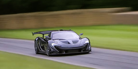 McLaren P1 LM special sets new Goodwood Festival of Speed road-car record