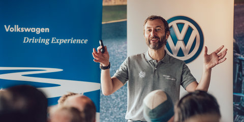 Meet Steve Pizzati: Volkswagen's dynamo driving instructor