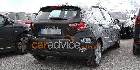 2017 Ford Fiesta spied