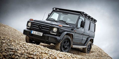 2017 Mercedes-Benz G350d Professional unveiled - UPDATED