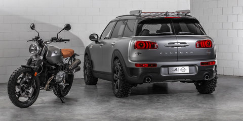 Mini Clubman ALL4 Scrambler concept revealed