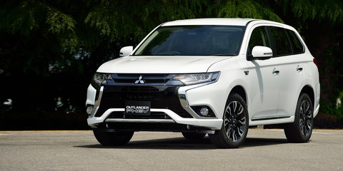 Mitsubishi Outlander PHEV update won't hit Australia until next year