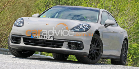 2017 Porsche Panamera: body styling revealed in new spy photos