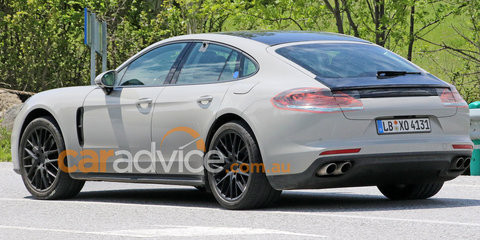 2017 Porsche Panamera:: body styling revealed in new spy photos