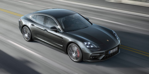 Be first, go big: Range-topper makes up half of new Porsche Panamera orders