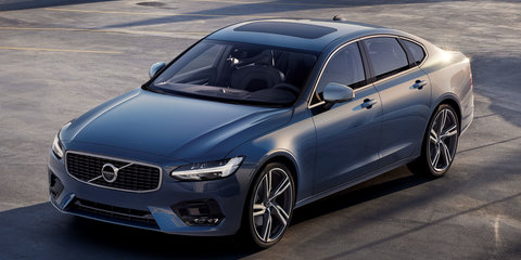 2017 Volvo S90/V90 R-Design pack unveiled, coming to Australia next year