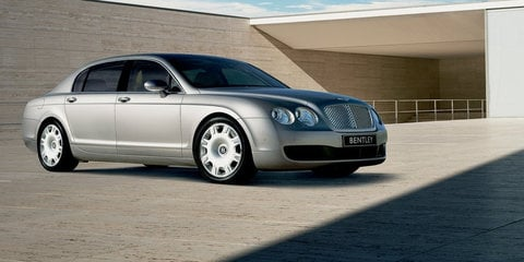 2007-08 Bentley Continental Flying Spur recalled for sunroof fix