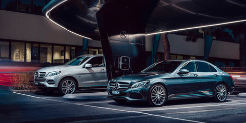 Mercedes-Benz C350e, GLE500e, S500e plug-in hybrids on sale in Australia