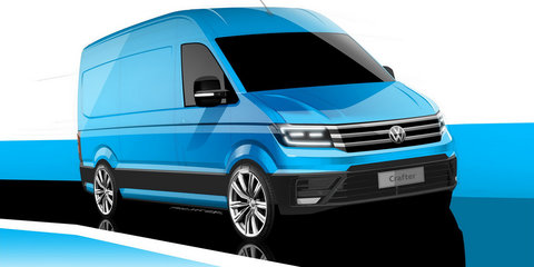 2017 Volkswagen Crafter previewed ahead of September debut