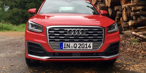 Audi Q2 wears a look inspired by gridiron and the iconic Audi quattro