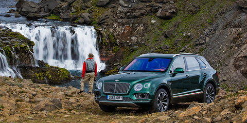 Bentley Bentayga goes fly fishing - UPDATE