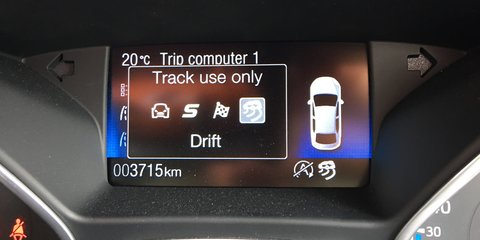 Thank you Ford, for Focus RS Drift Mode