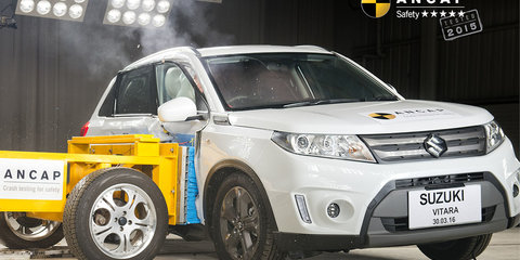 Suzuki Vitara and Kia Optima get five-star ANCAP ratings