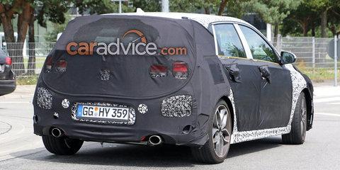 2017 Hyundai i30 N spied in production body