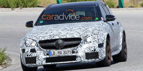 2018 Mercedes-AMG E63 Black Series wagon spied