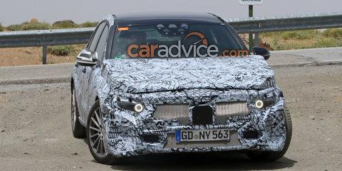 2018 Mercedes-Benz A-Class hatch spied
