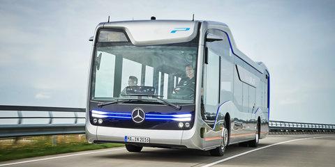 Mercedes-Benz Future Bus debuts semi-autonomous City Pilot system