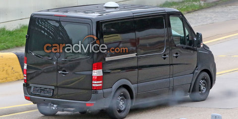 2018 Mercedes-Benz Sprinter spied