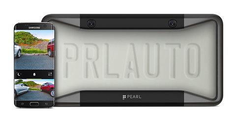 The number plate cover that gives you eyes in the back of your head