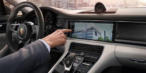 2017 Porsche Panamera infotainment system detailed