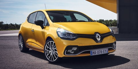 2017 Renault Clio RS and GT Line unveiled
