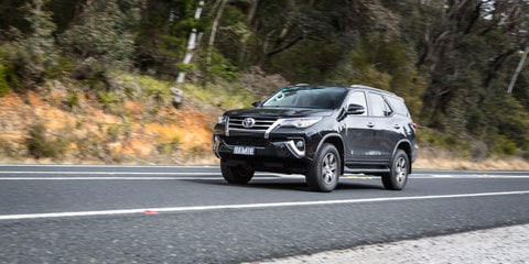 2016 Toyota Fortuner GXL v Mitsubishi Pajero Sport Exceed comparison