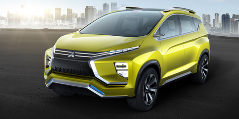 Mitsubishi XM concept revealed: Grandis and Delica merge to form new crossover people-mover