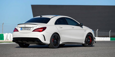 2016 Mercedes-Benz CLA:: refreshed coupe and wagon range arrives in Australia from $52,500