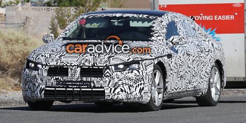 2018 Volkswagen CC spied testing - UPDATE
