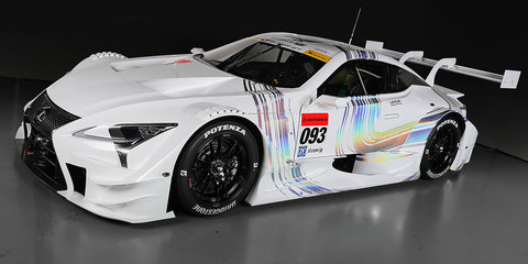 Lexus LC 500 racer to replace RC F in Japan's Super GT series