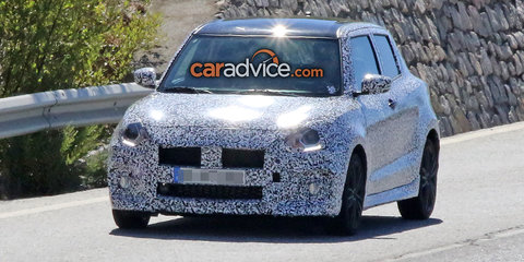 2017 Suzuki Swift Sport spied in Europe