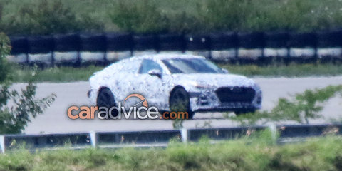 2018 Audi A7 spied